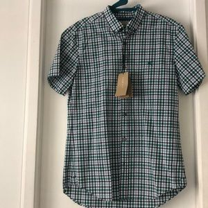 NWT Burberry Brit button down- 100% cotton